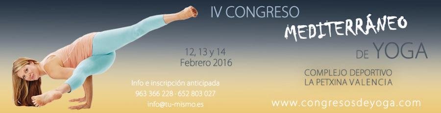 V Congreso Mediterráneo de Yoga: la meditación